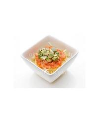A4 - Salade aux saumon avocat