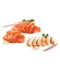 L12 - sashimi raviolis